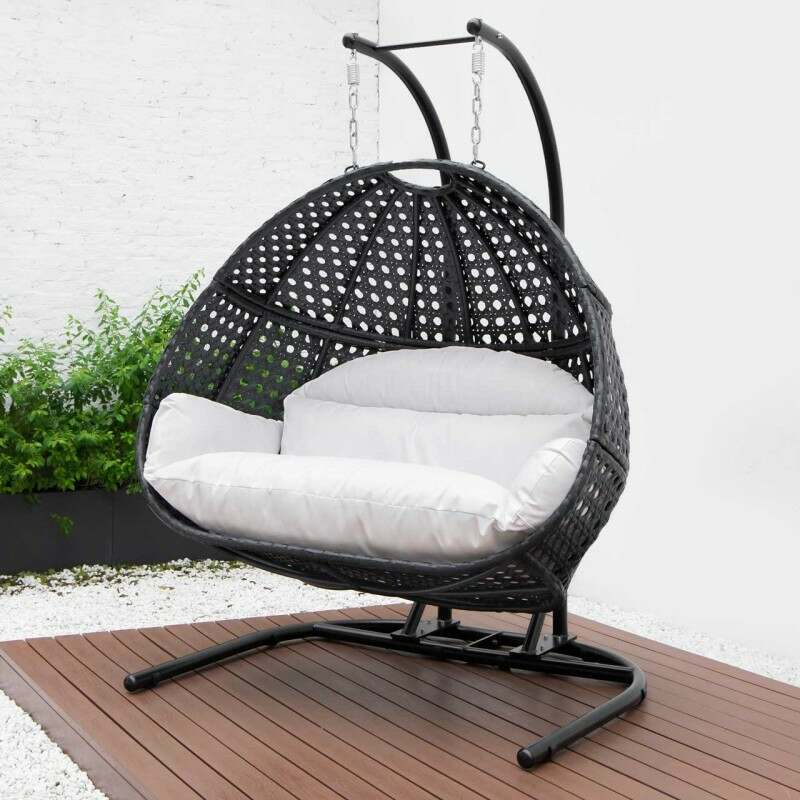 Harrier Double Hanging Egg Chair [2 Seater] | Net World Sports
