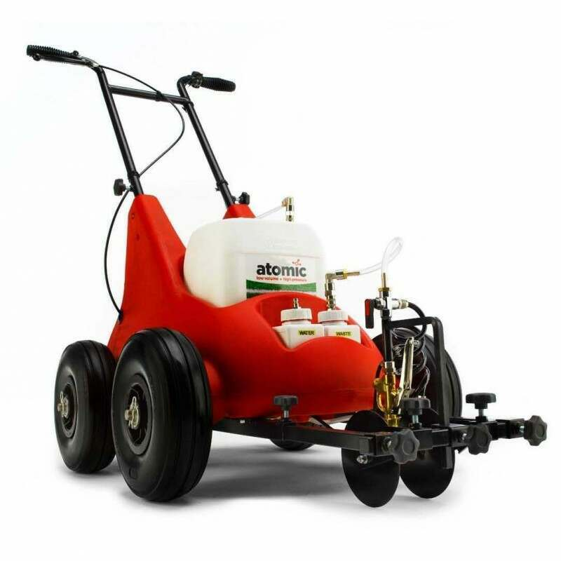 Atom Electric Spray Line Marking Machine For Sports Pitches