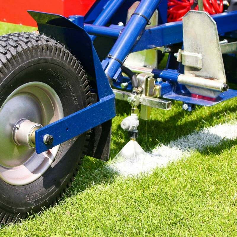 Adjustable Spray Line Marking Machine For Sports Pitches