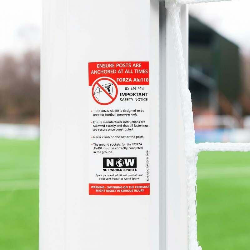 Safe And Secure Stadium Box Football Goal 21 x 7