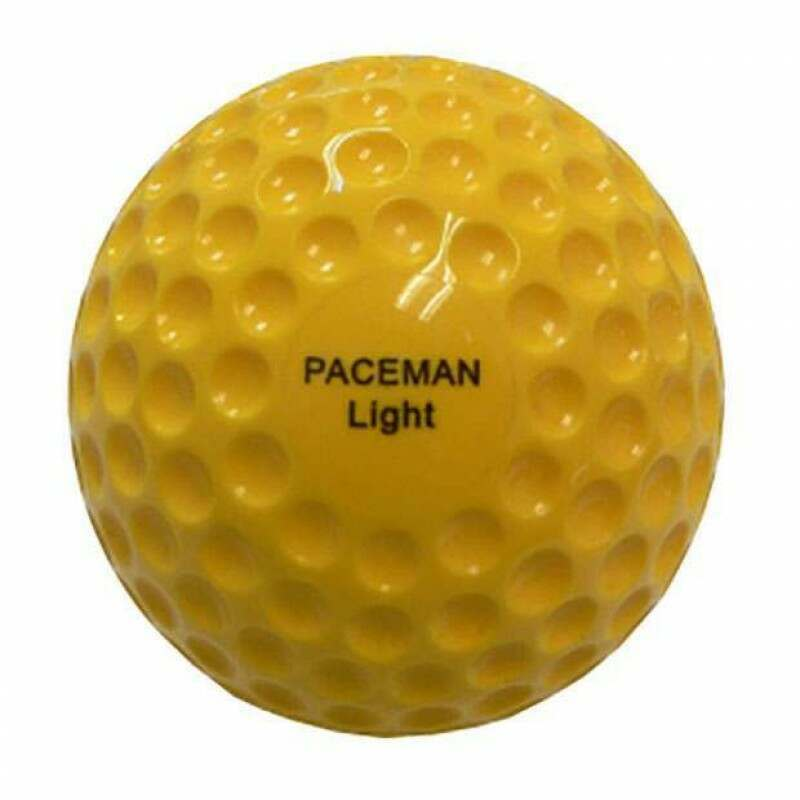 Paceman Light Bowling Machine Balls – 12 Pack [Net World Sports]