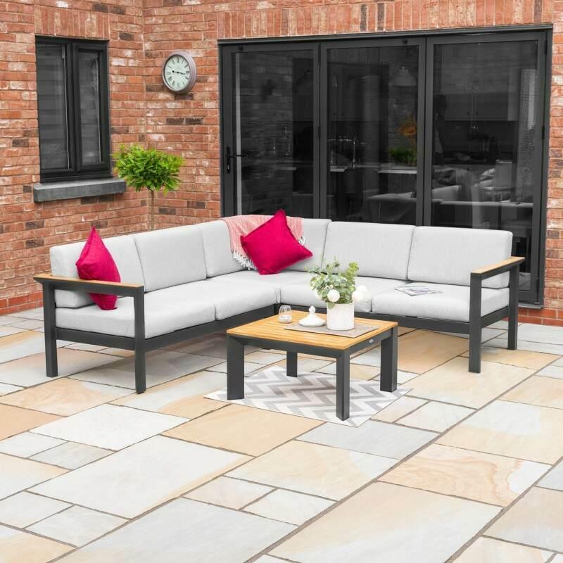 Harrier Luxury Corner Sofa & Table Set | Net World Sports