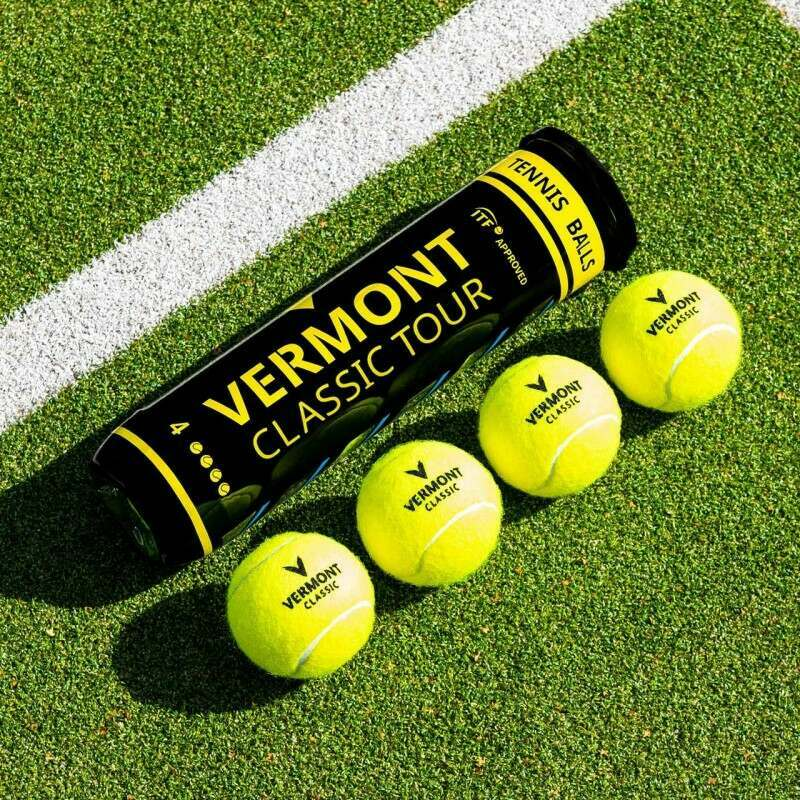 ITF Approved Match Tennis Balls | Tubes of 4 | Bulk Buy Available | Net World Sports