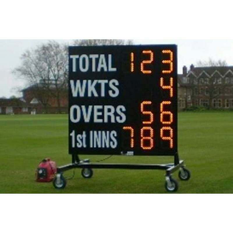Club Electronic Cricket Scoreboard [1.5m x 1.5m] | Net World Sports