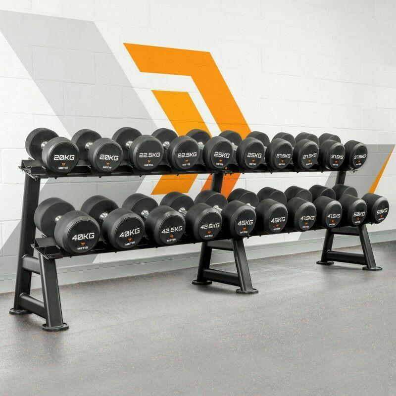 METIS Commercial Dumbbell Rack Sets | Net World Sports