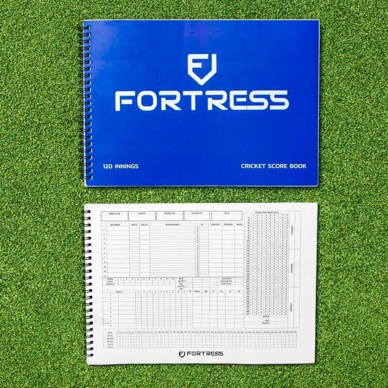 Professional FORTRESS Cricket Scorebook | Net World Sports
