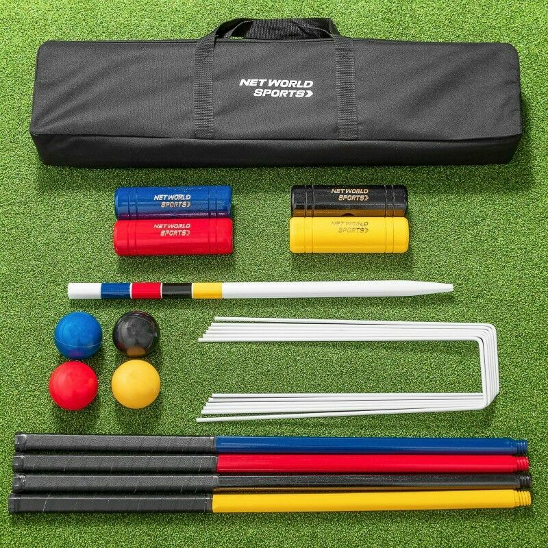 Standard Wooden Croquet Set