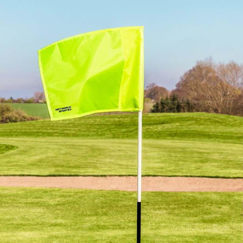 Coloured Golf Flags Pack Of 4