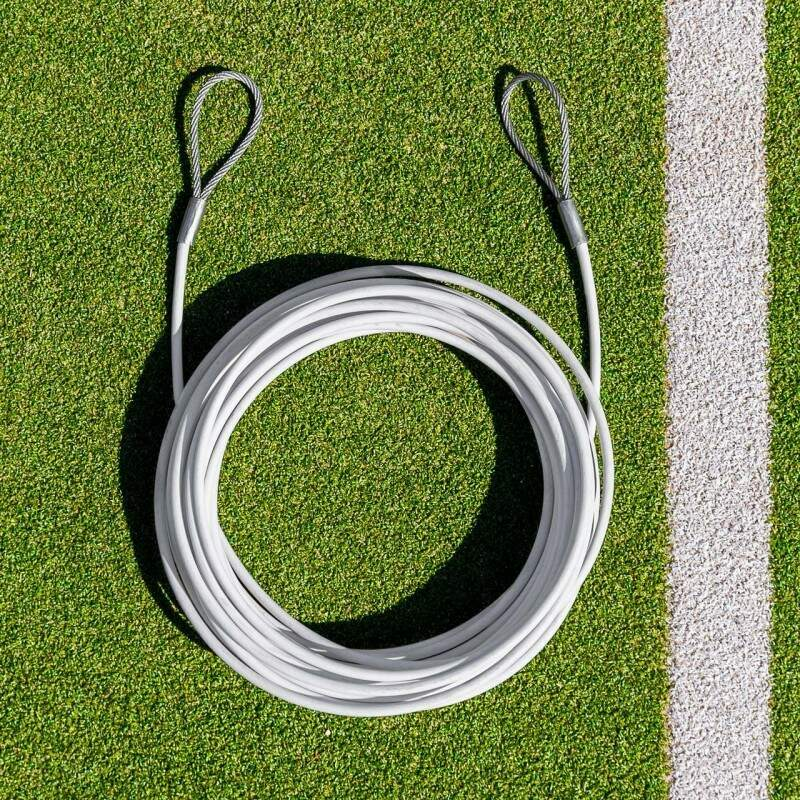 Double Loop Tennis Net Headline Wire Cable | Vermont Sports