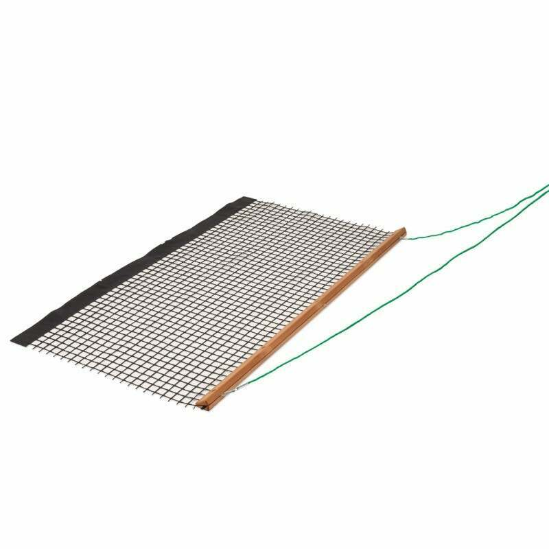 Wooden Tennis Court Drag Mat Net World Sports