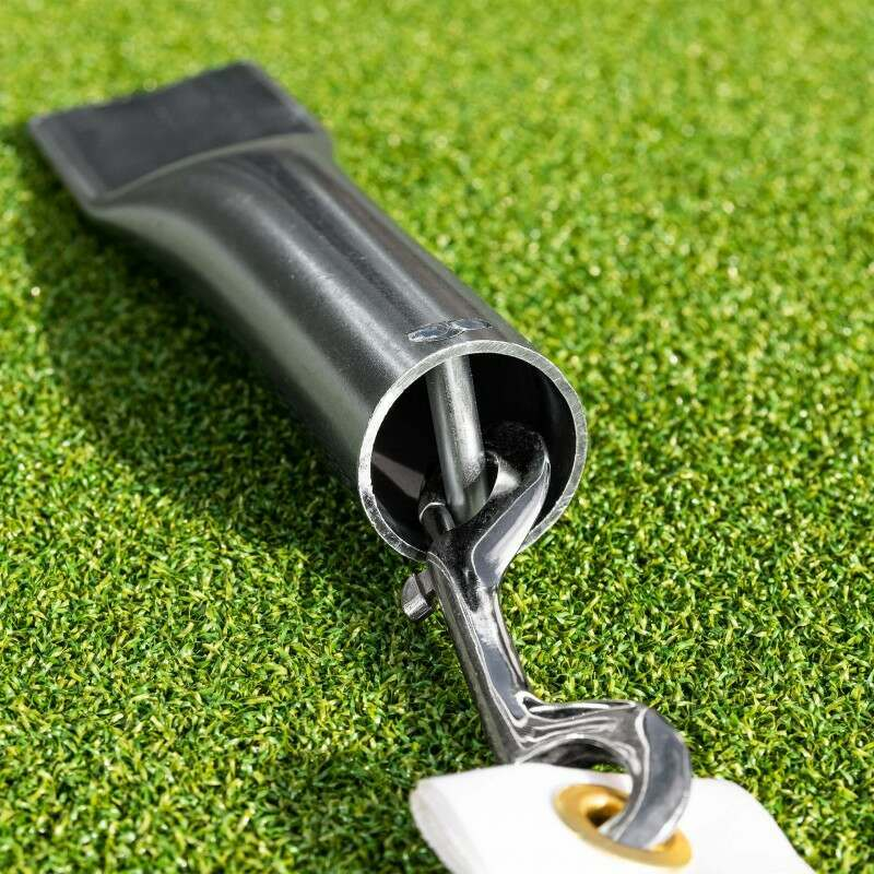 Ground Anchor Socket With Shackle   Net World Sports