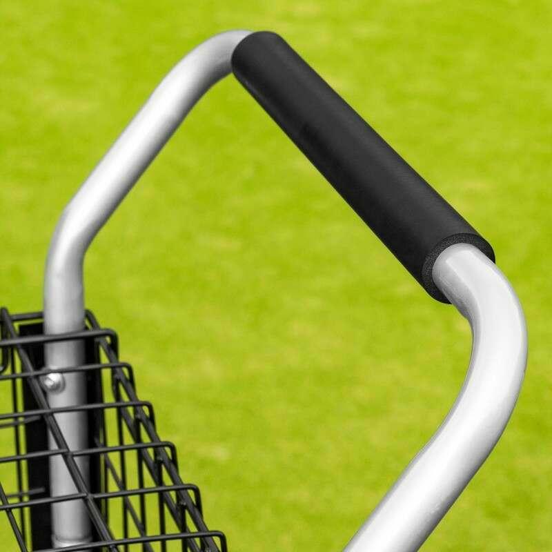 Tennis Ball Coaching Trolley With Foam Handle | Net World Sports