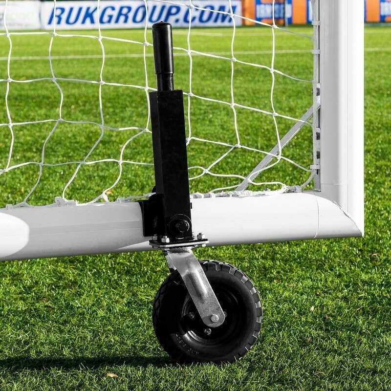 Rotating Football Goal Wheels