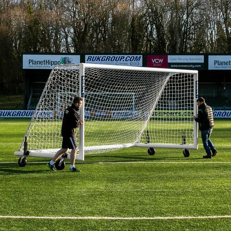 Rotational Football Goal Wheel