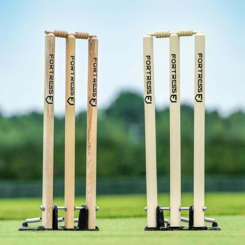 FORTRESS Spring Back Cricket Stumps | Net World Sports