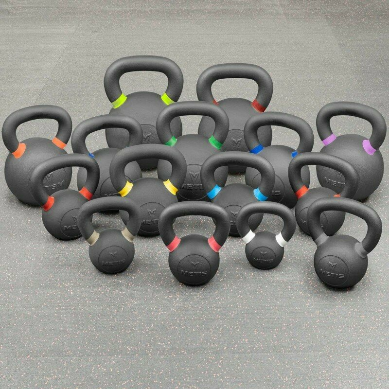 METIS Pro Cast Iron Kettlebells [4-40kg] | Net World Sports