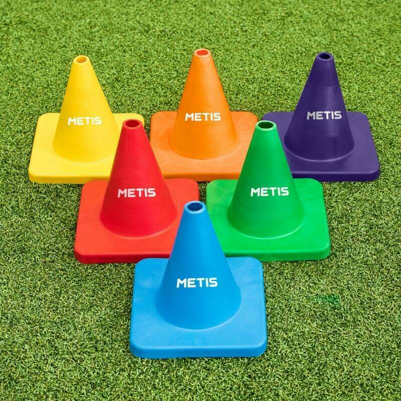 Flexible Training Cones [6 Pack] | Net World Sports