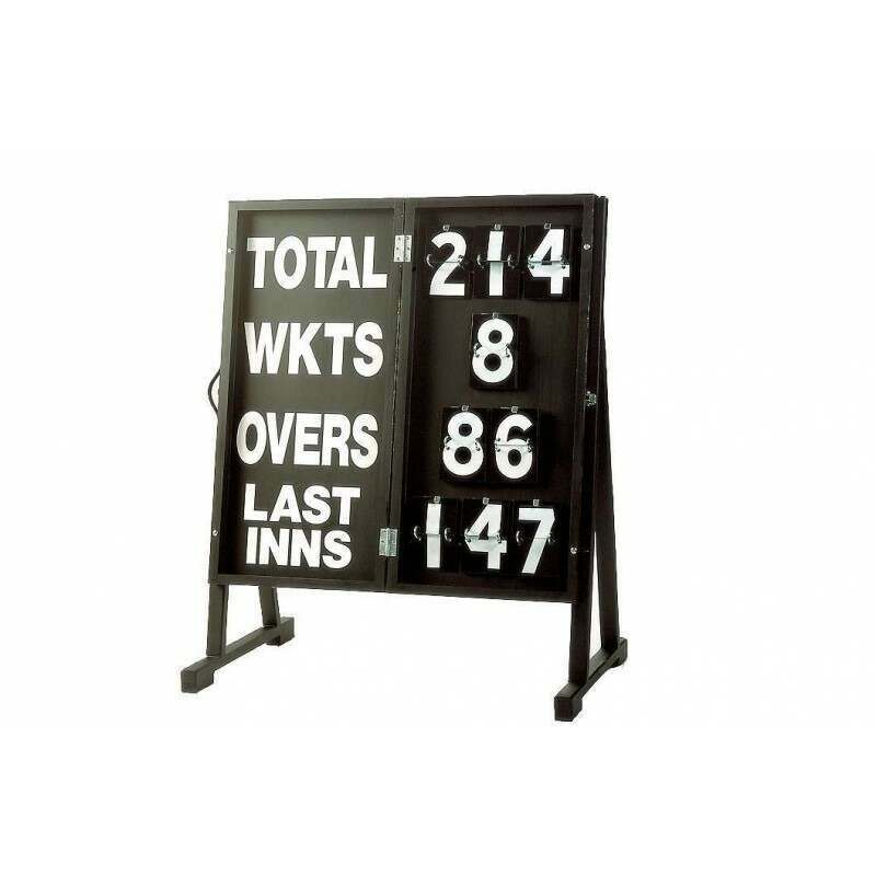 Folding Wooden Cricket Scoreboard | Net World Sports
