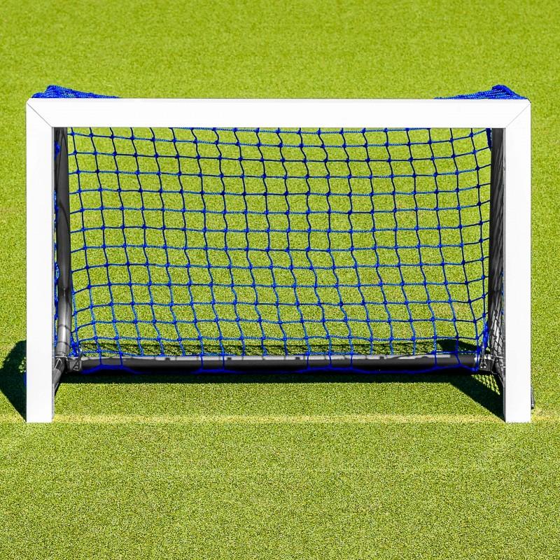 Net World Sports FORZA Mini Hockey Goal 3ft x 2ft Aluminium Folding Hockey Target Goal