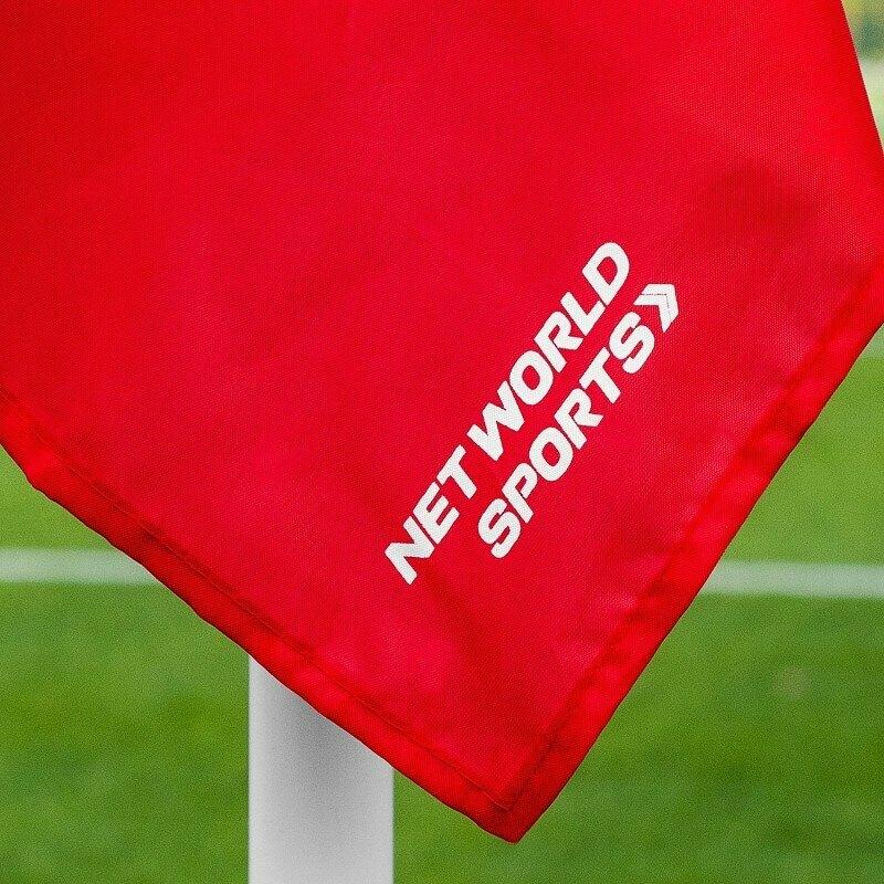 Four Basic Nylon Football Corner Flags