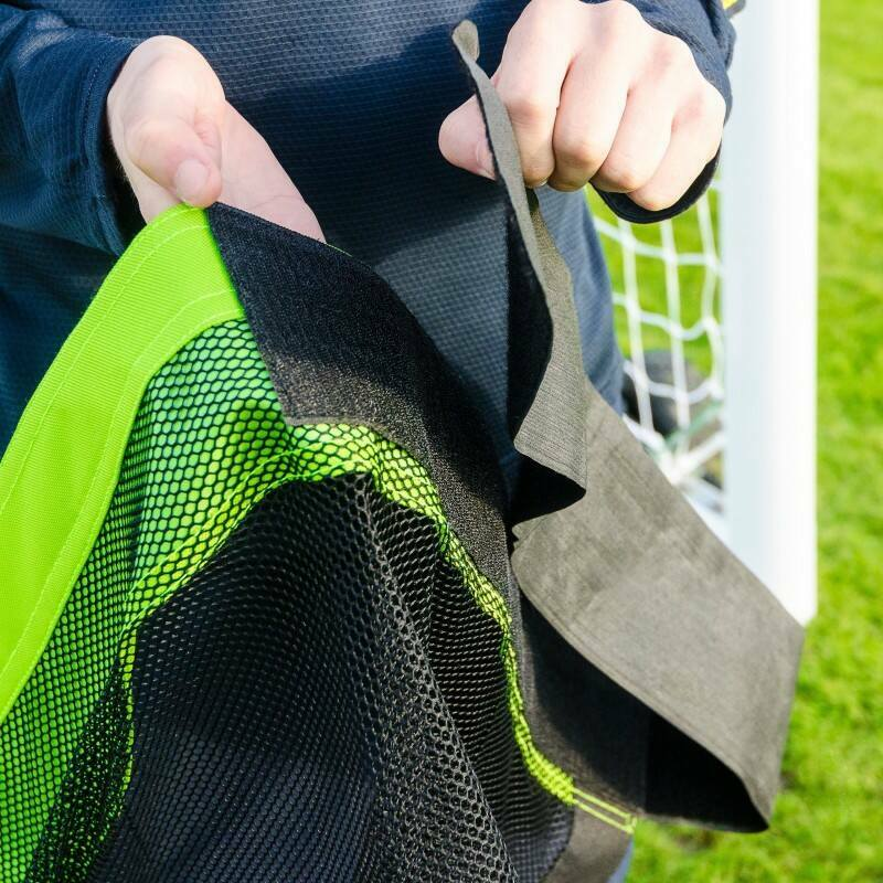 Football Goal Target Sheets With Strong Loop And Pin Straps