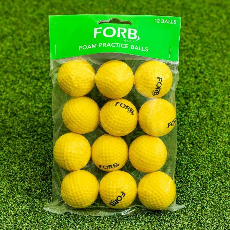 FORB Foam Golf Balls [12 Pack] | Practice Golf Balls | Net World Sports