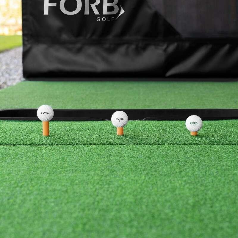 Pro Hitting Mat With Rubber Golf Tees | Net World Sports
