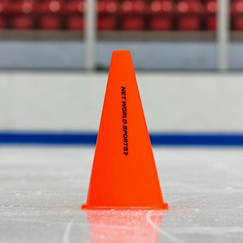 Traffic Marker Cones for Ice Hockey Training