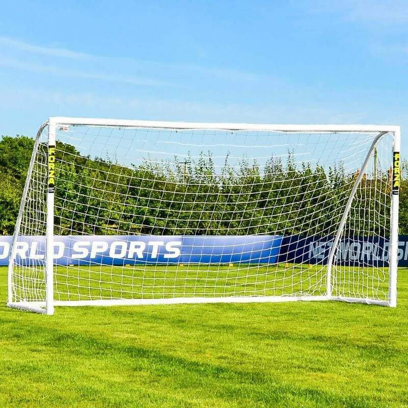 3.7m x 1.8m FORZA Match Soccer Goal Post | Net World Sports