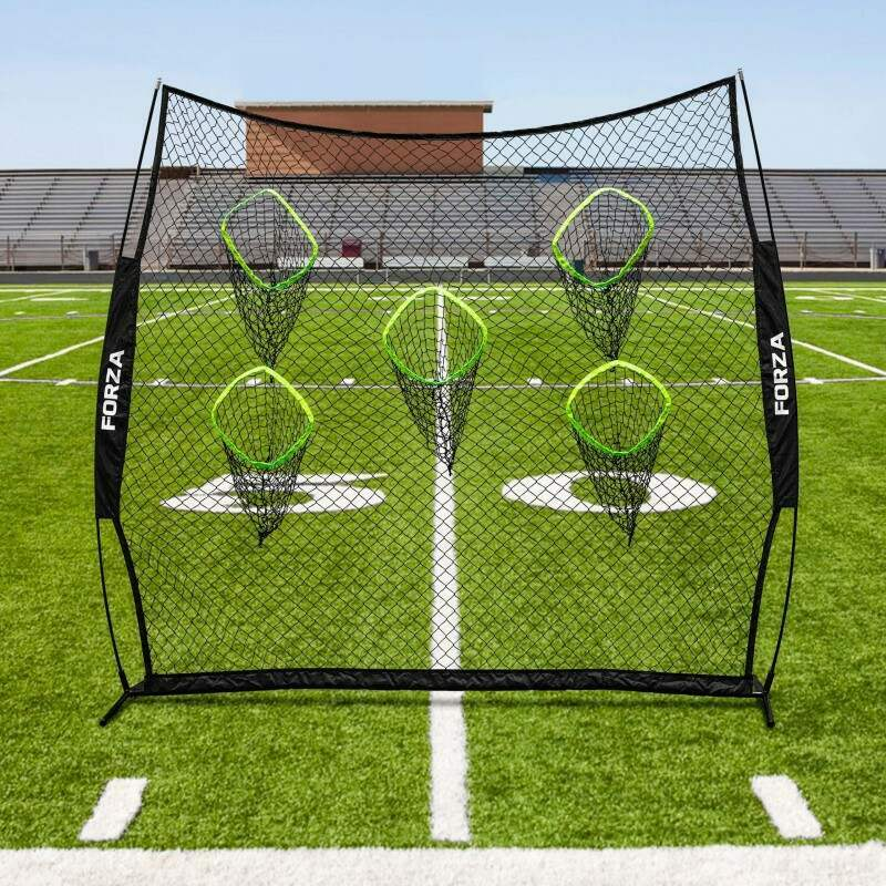 quarterback throwing net