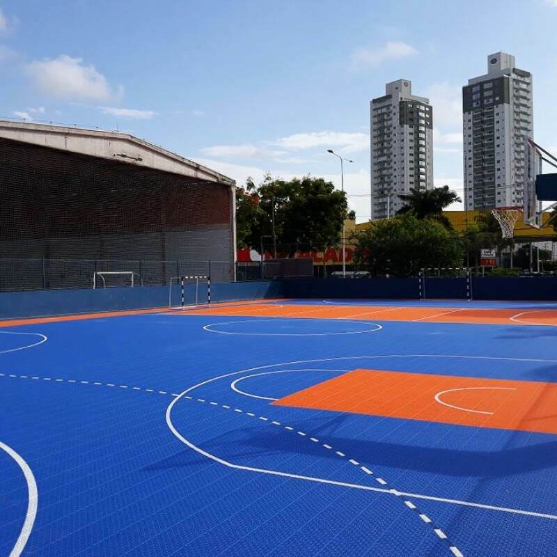 Futsal Modular Floor Tiles System 1