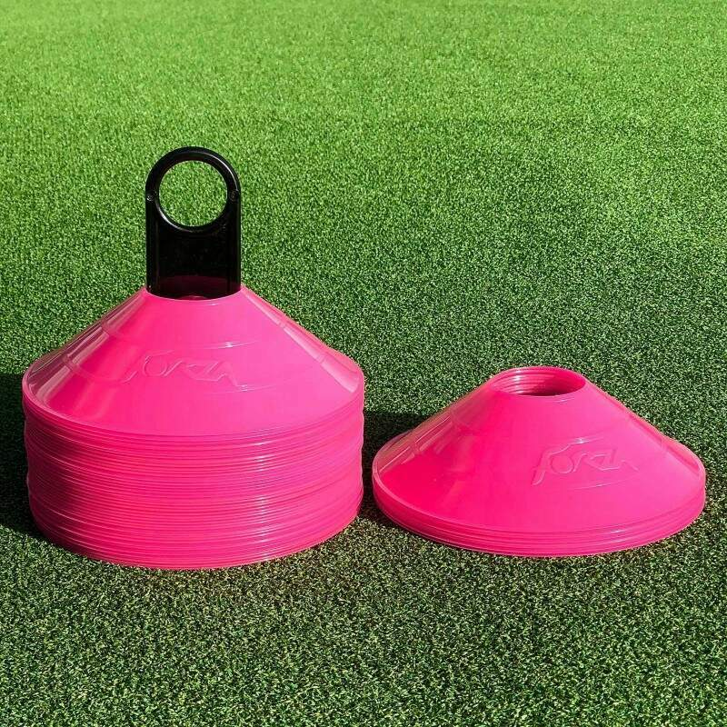 Pink Training Marker Cones For Drills