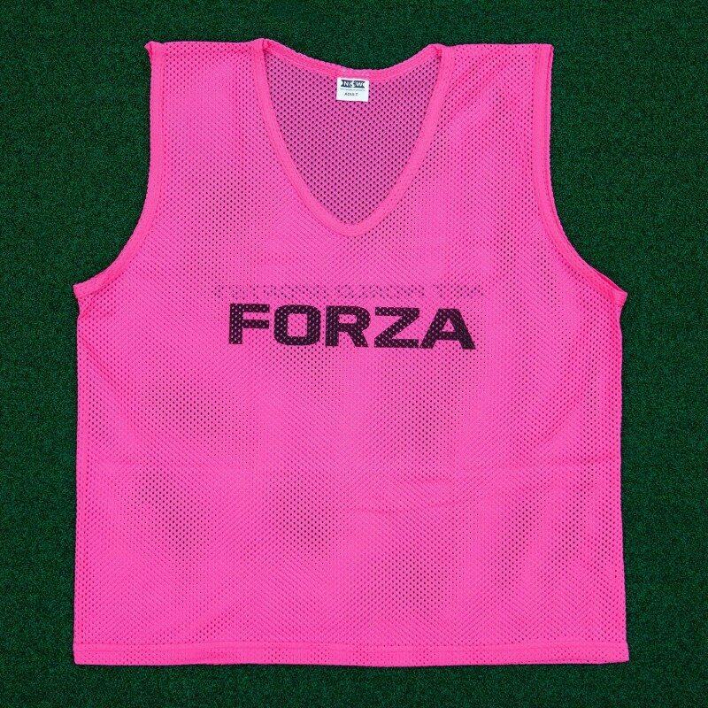Pink High Visibility Pack of Rugby Bibs for Training