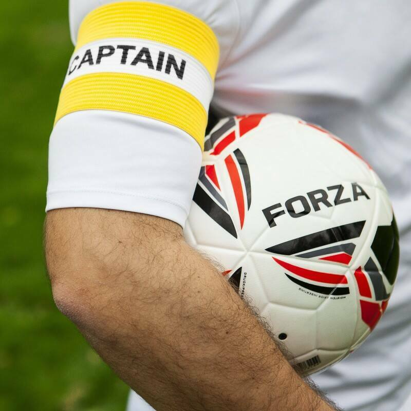 Yellow Captains Armbands for Adults - Men's Captains Armband