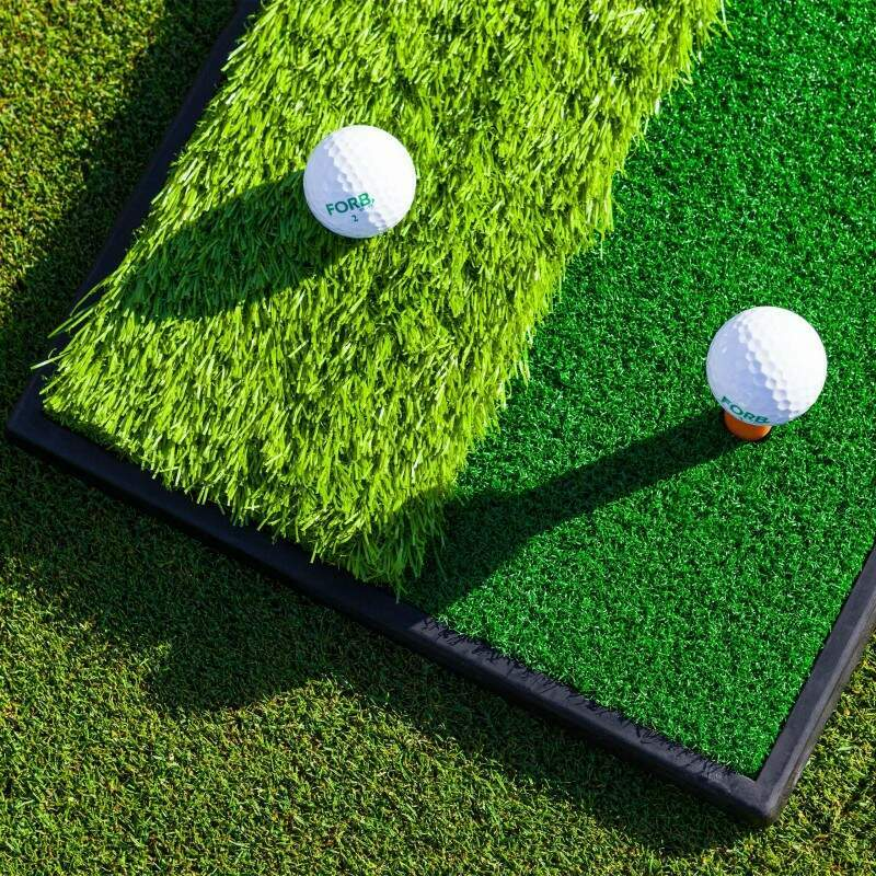 Dual Terrain Golf Practice Mat | All-weather Golf Mat