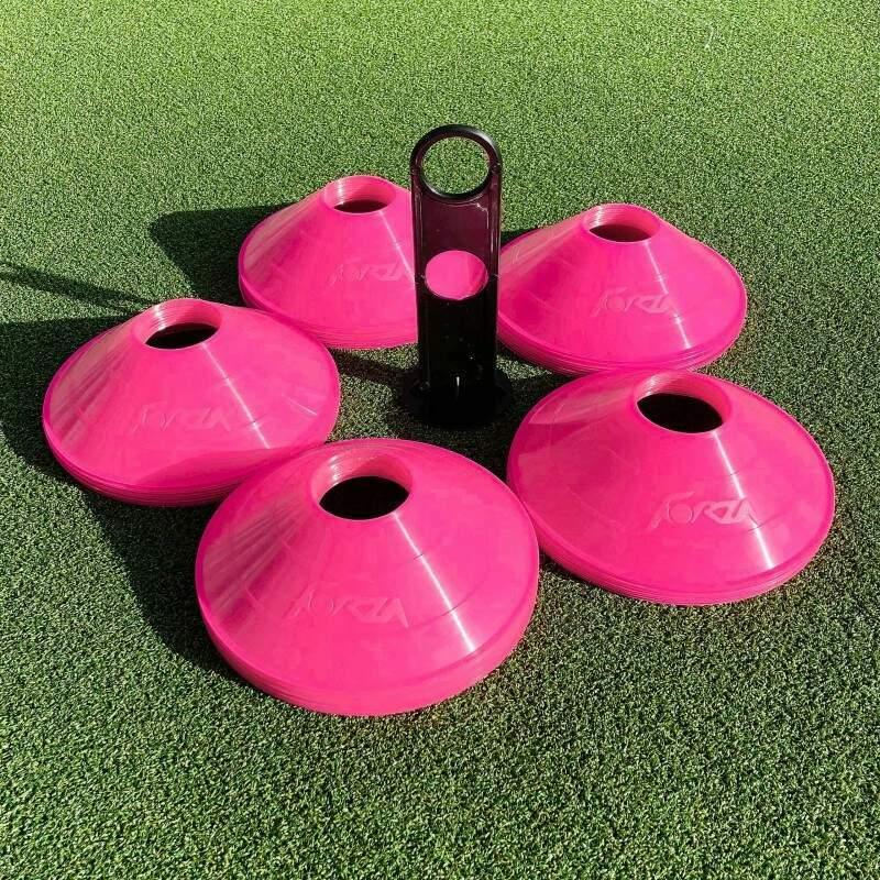 Pink Training Marker Cones | Training Equipment