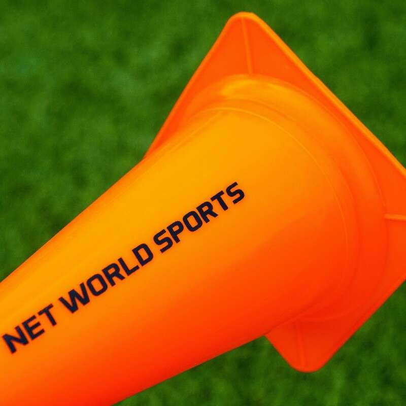 Football Training Marker Cones In Orange