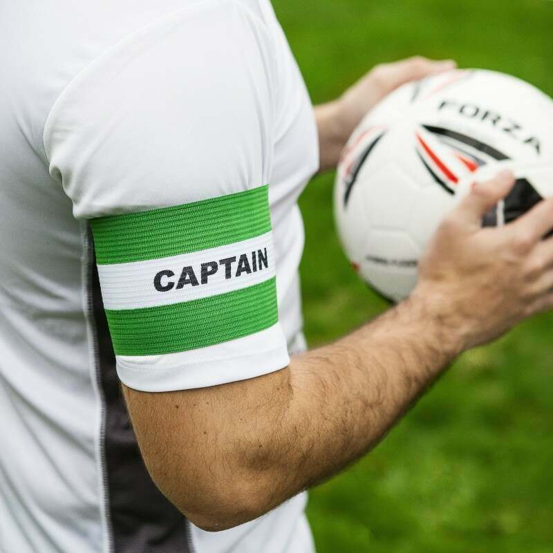 Green Junior Captains Armbands Available
