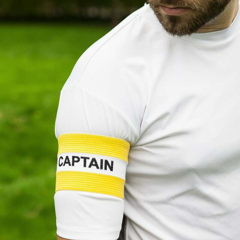 Yellow Captains Armbands