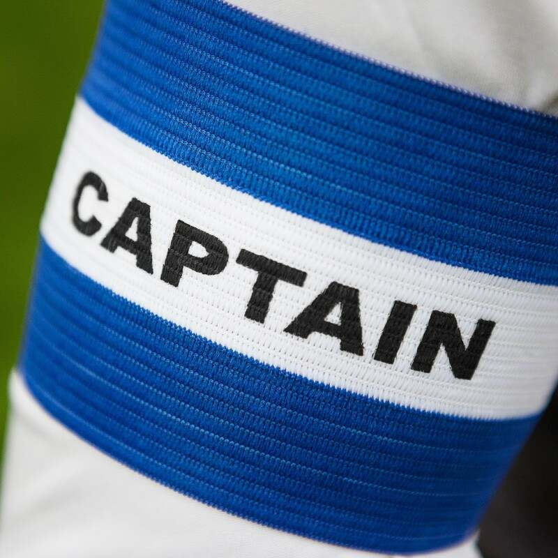 Blue Football Captains Armbands for Sale