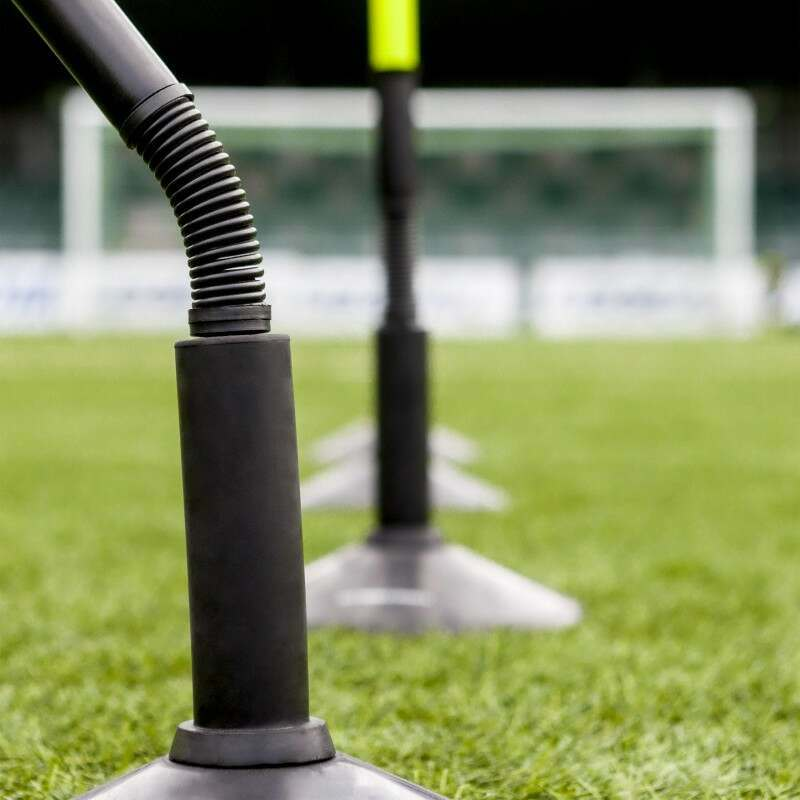 Highly Visible Astroturf Slalom Poles