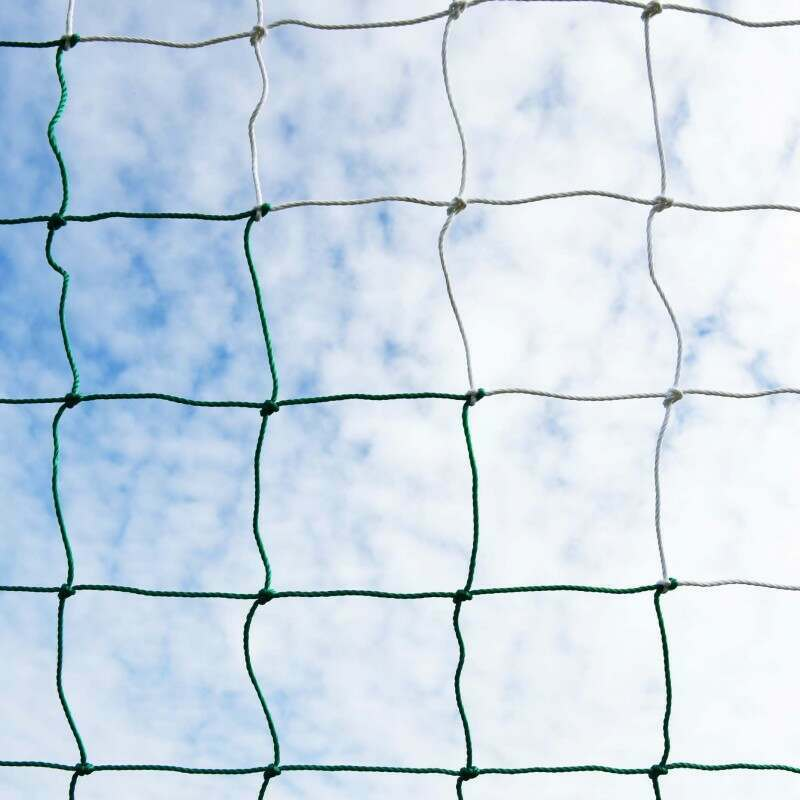 Green & White Soccer Nets