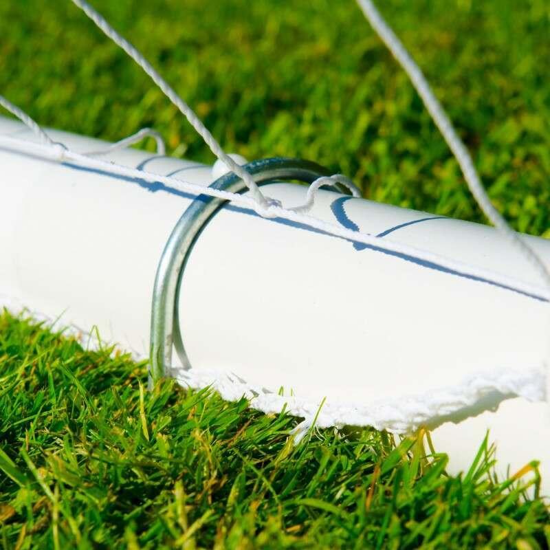 Freestanding GAA Goal Posts With Steel U-Pegs   Net World Sports