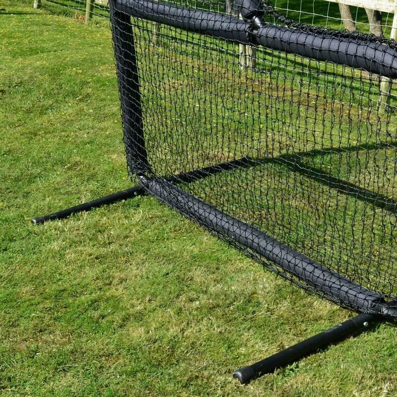 Heavy Duty Steel Feet With Rubber Grips For Exceptional Grip & Stability   Net World Sports