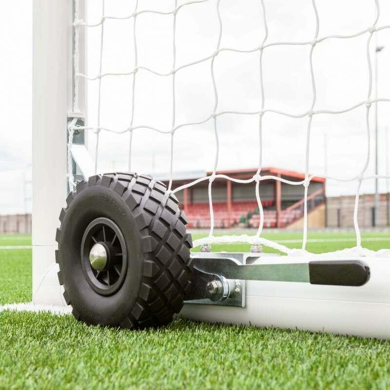 Heavy Duty Extra Wide Football Goal Wheel