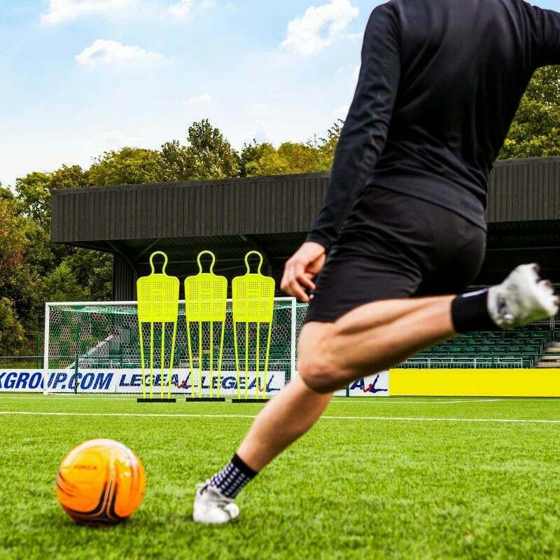 FORZA Soccer Free Kick Mannequin - Senior 6ft (Training & Ref Equipment Set)