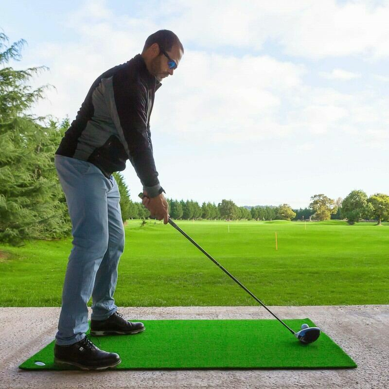 Driving Range Practice Mat   Excellent Stability During Swing   Net World Sports