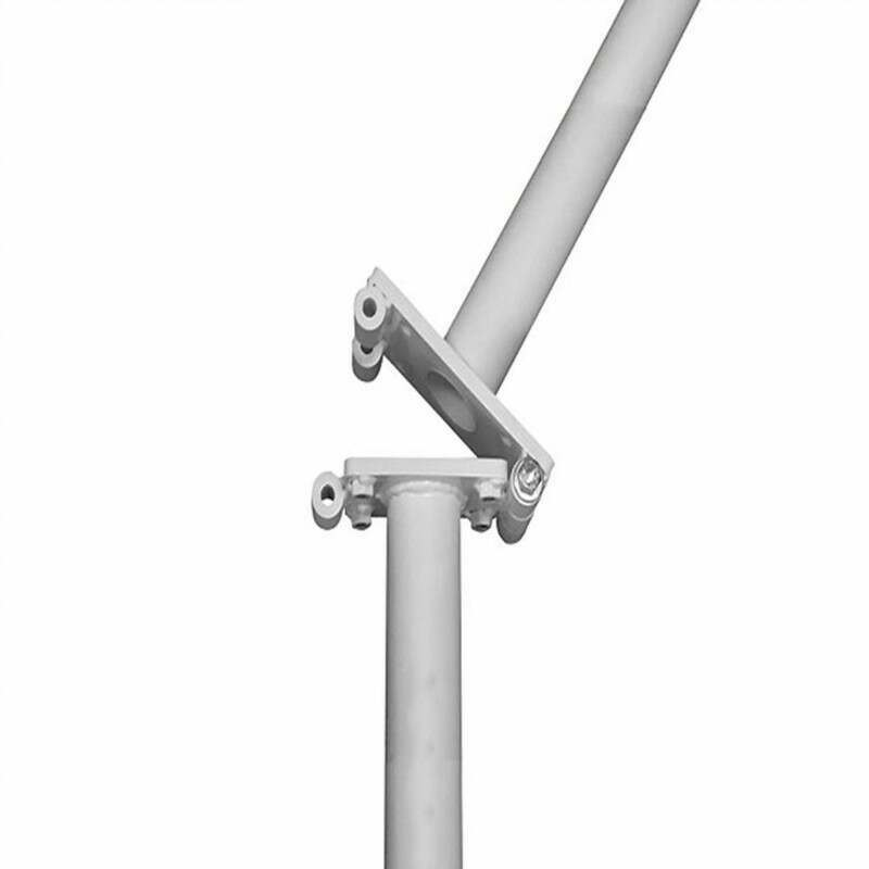 Hinged Adapters For Rugby Posts | Galvanised Steel | Junior & Senior Posts | Net World Sports