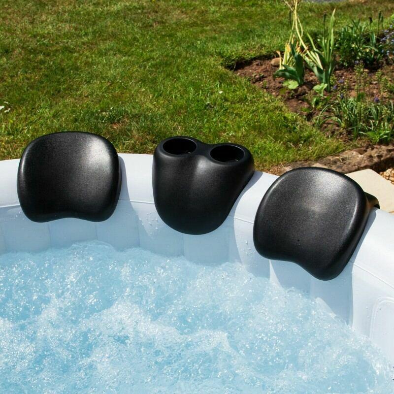 CosySpa Hot Tub Head Rests & Drinks Holder Set | Net World Sports