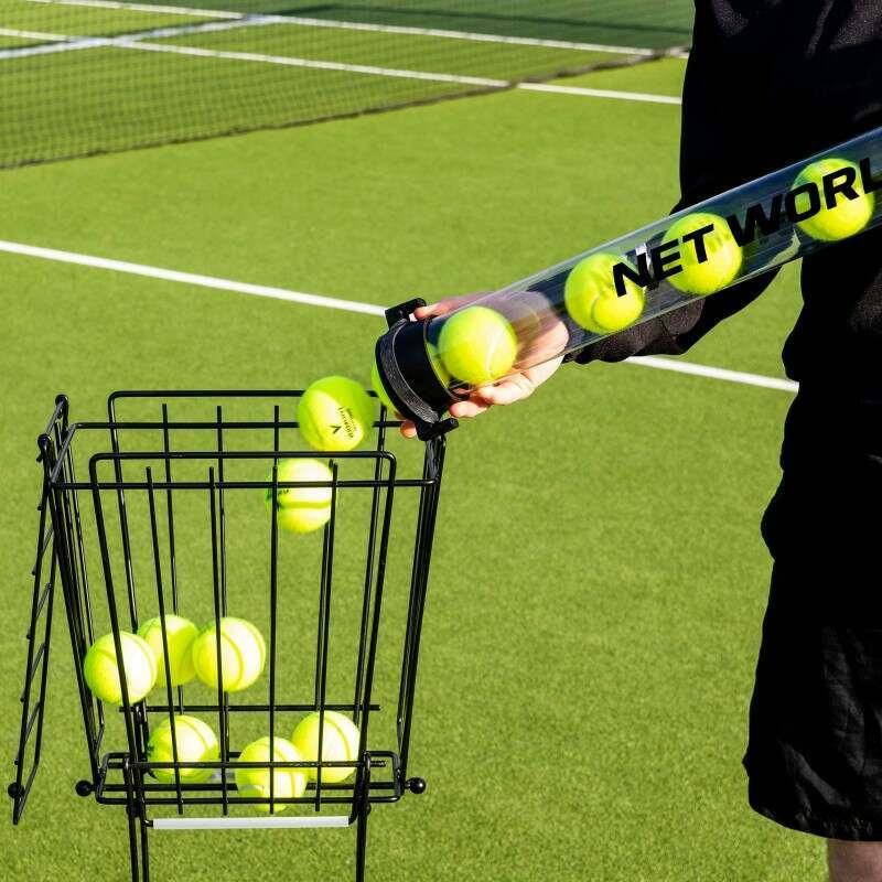 Easy To Collect Tennis Balls | Reduces Injury Risk